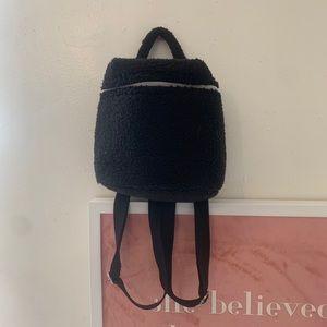 Vintage 90's GAP mini Sherpa Bucket Backpack
